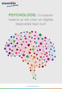 Whitepaper 10 redenen waarom je niet meer om digitale diagnostiek heen kunt